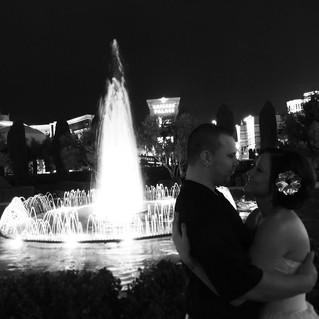 Beautiful Fountain Weddings Las Vegas