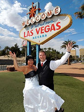 The Las Vegas Wedding Wagon makes your Las Vegas Sign Wedding fun and affordable
