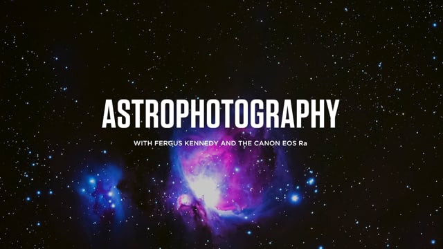 Astrophotography with the Canon EOS Ra
