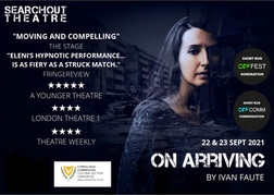 On Arriving by Ivan Faute |22-23 September 7pm|Cyprus House