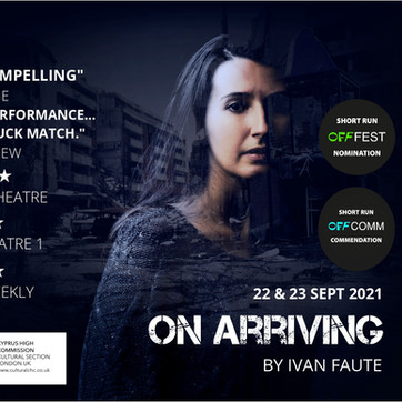 ON ARRIVING BY IVAN FAUTE