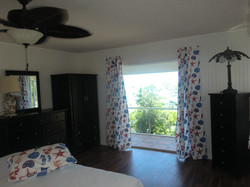 The king size bedroom