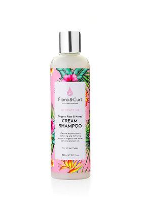 Flora&Curl/Cream Shampoo 300ml