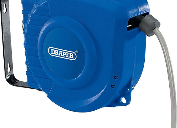 Draper DRA15047 Retractable Air Hose Reel, Blue, 12 m
