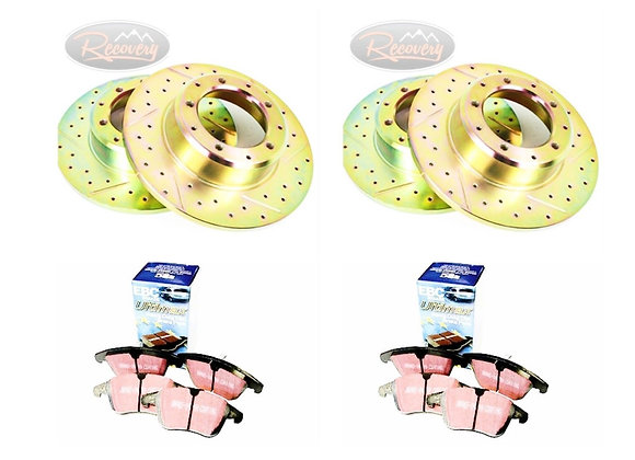 DISCOVERY 2 FRONT & REAR PERFORMANCE DISCS & PADS