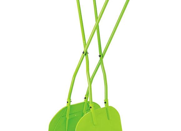 Draper Tools LG/HD Leaf Grabber, green with grey handles
