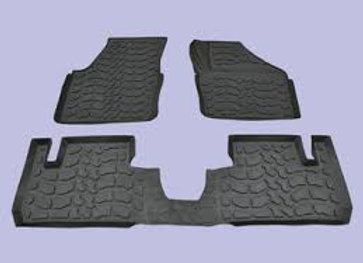 FREELANDER 2 RUBBER MAT SET