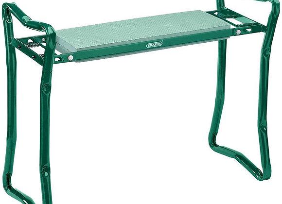Draper 27435 Garden Kneeler and Seat, Green/Black