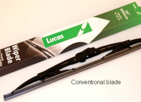 RANGE ROVER SPORT CONVENTIONAL WIPER BLADE - DRIVERS SIDE, WITH SPOILER