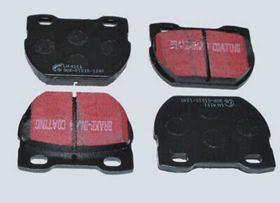 DEFENDER 110 FROM 1994 - EBC ULTIMAX - HEAVY DUTY PERFORMANCE PADS - FRONT
