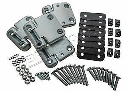 DEFENDER FRONT DOOR HINGE HEAVY DUTY KIT FOR 2 DOORS
