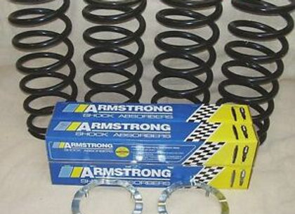 FULL STANDARD HEIGHT ARMSTRONG SUSPENSION KIT DEFENDER 90
