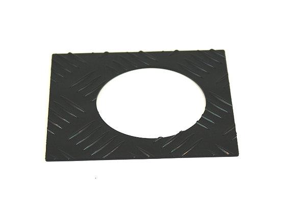 DEFENDER 90 CHEQUER PLATE - FUEL CAP SURROUND