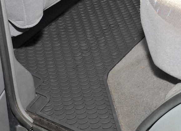 DISCOVERY 1 REAR RUBBER FLOOR MATS