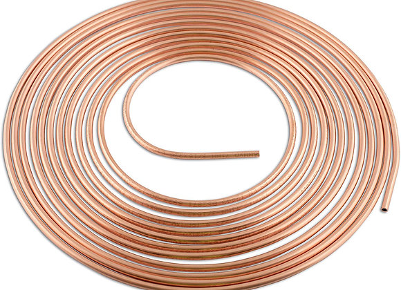 Connect - Copper Pipe 3/16in x 25ft - Pack Of 1 - 31135