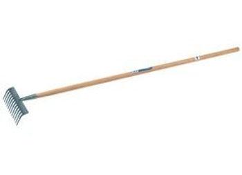 Draper 14306 Carbon Steel Garden Rake with Ash Handle