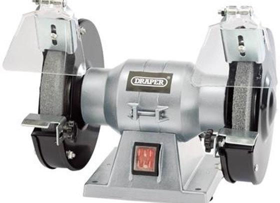 Draper 83420 150mm 150W 230V Bench Grinder, 230 V, Grey