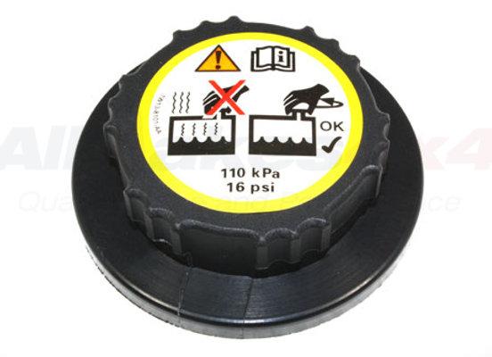 FREELANDER 2 -RADIATOR EXPANSION TANK CAP - TD4 2003 ONWARDS