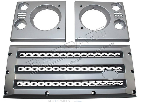 LAND ROVER DEFENDER XS GRILLE / SURROUND KIT