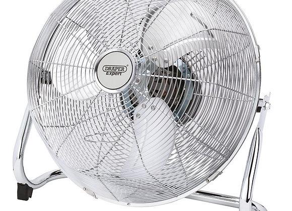 16 Inch Oscillating Industrial Fan (415 mm), Silver