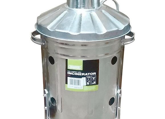 Galvanised Mini Incinerator (15L) 53250 DRAPER BRAND