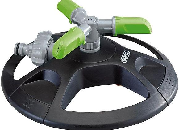 Draper DRA27757 3-Arm Revolving Sprinkler, Multi-Colour