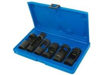 Diesel Injector Sockets 1/2inchD 6pc