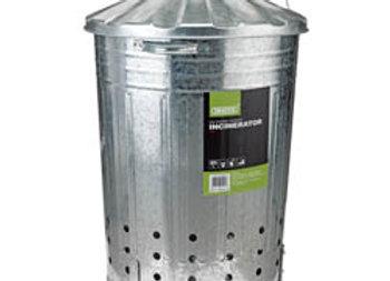 Galvanised Garden Incinerator (85L) 53253  draper brand
