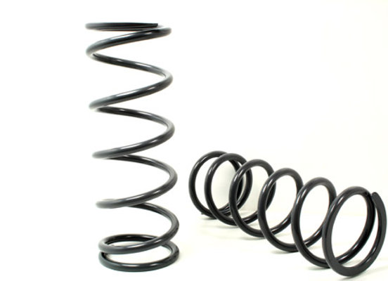 "DEFENDER 110 130  - TERRAFIRMA - MEDIUM LOAD SPRINGS +2"" - PAIR -FRONT"