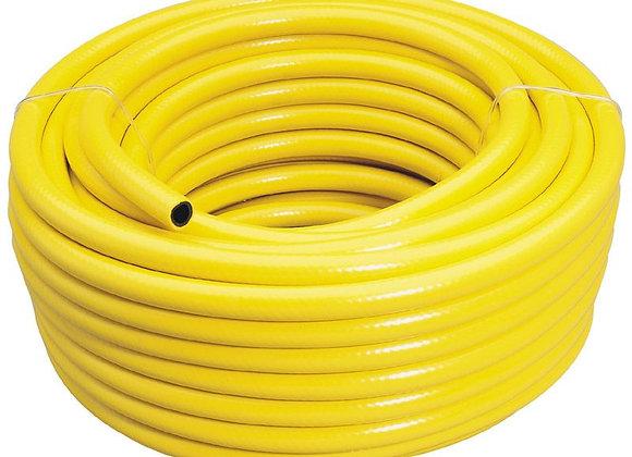 Draper 56314 30 m 12 mm-Bore Heavy-Duty Watering Hose (Yellow)