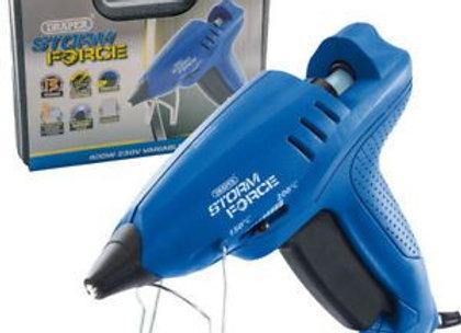 Draper 83661 Storm Force Variable Heat Gun with Six Glue Sticks (400W) 230 V