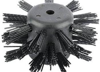 Draper 16269 Nylon Brush for Drain Rods, Black