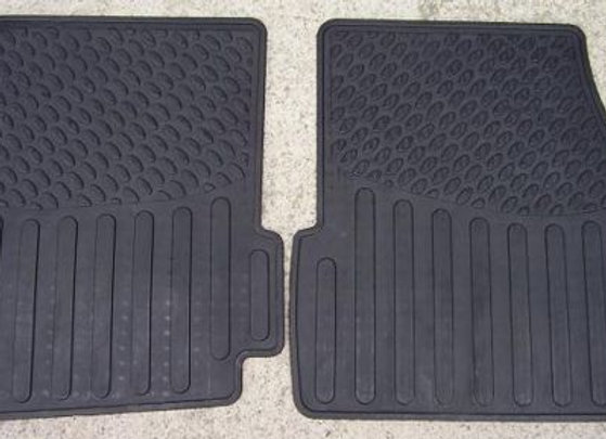 DISCOVERY 1 RUBBER MAT SET REAR - PAIR