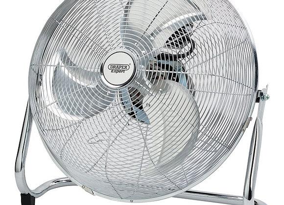 18 Inch Oscillating Industrial Fan (450 mm), Silver