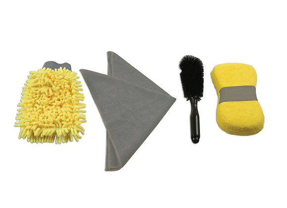 Connect - Consumables Car Wash Kit - 4 Pieces - 35356