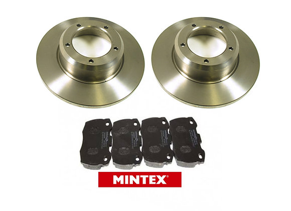 DEFENDER 200 / 300TDI BRAKE DISC AND MINTEX PAD SET  - FRONT