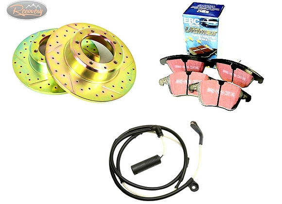 DISCOVERY 3 - TDV6 - PERFORMANCE DISC AND PAD FIT - REAR