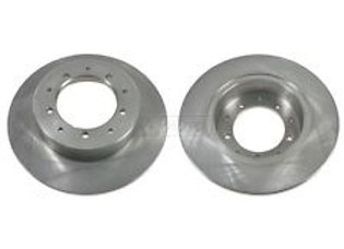 DISCOVERY 1 1986>1998 BRAKE DISC REAR  PAIR - RECOVERY BRAND