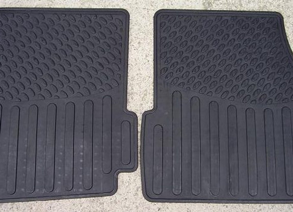DISCOVERY 1 RUBBER MAT SET FRONT - PAIR