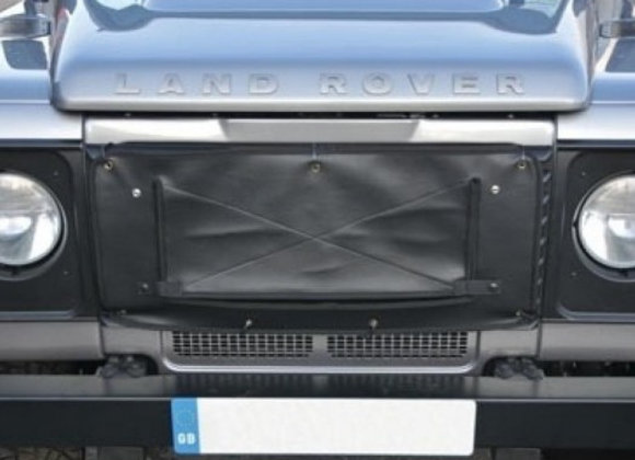 LAND ROVER DEFENDER RADIATOR MUFF GRILL COVER