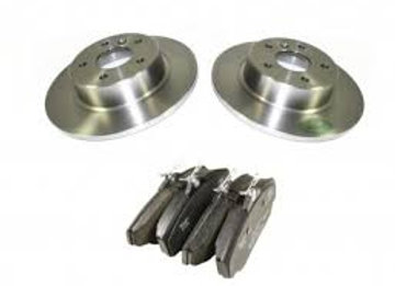 DISCOVERY 2 & P38  REAR BRAKE DISCS & PADS
