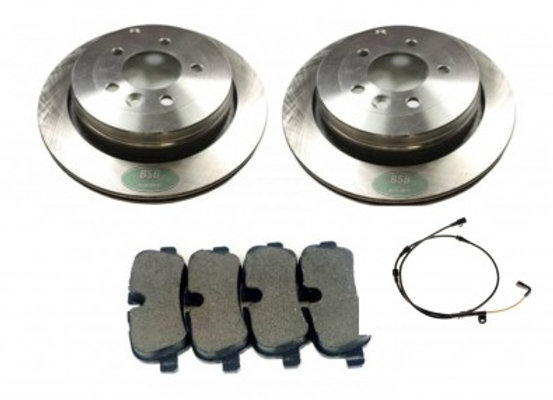 DISCOVERY 3 & RRS REAR BRAKE DISCS &  PADS -  2.7 TDV6