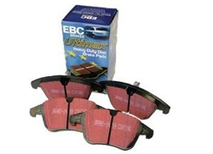 DEFENDER 110 FROM 1986 - EBC ULTIMAX - HEAVY DUTY PERFORMANCE PADS - FRONT