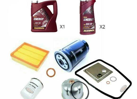DISCOVERY/DEFENDER TD5 SERVICE KIT + 8 LITRES SEMI 5W/30 OIL