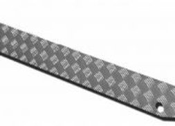 DEFENDER 90 - CHEQUER PLATE REAR CROSSMEMBER - STANDARD COLOUR