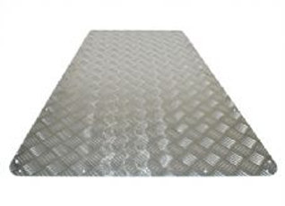 DEFENDER 90 CHEQUER PLATE BONNET PROTECTOR - STANDARD COLOUR