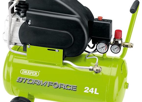 Draper - 24L 2hp Air Compressor