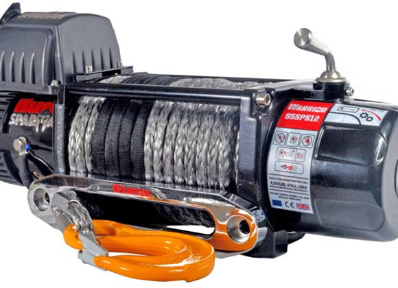 9500LB WARRIOR SPARTAN WINCH - SYNTHENTIC ROPE
