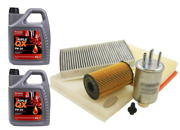 DISCOVERY 3 2.7 TV6 2004>06 SERVICCE KIT + 7 LITRES OF 5W30 SEMI OIL