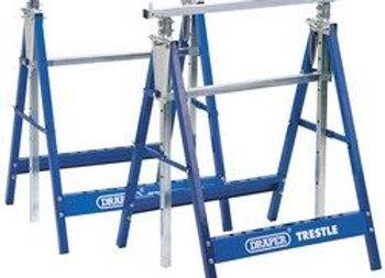 Draper 54053 Pair of Telescopic Saw Horses or Builders Trestles